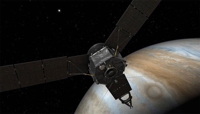 बृहस्पति ग्रह की कक्षा में प्रवेश कर रहा है नासा का जूनो अंतरिक्ष यान