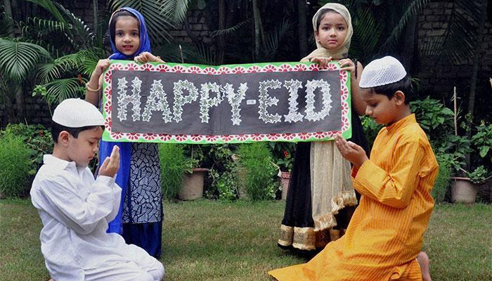 दुनिया भर में ईद की धूम
