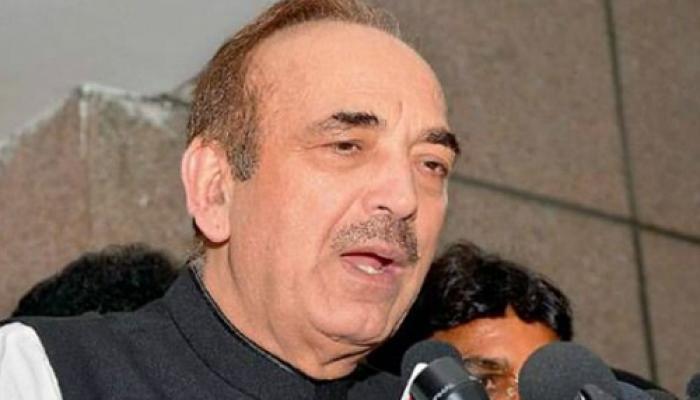 कश्मीर में हिंसा आरएसएस के एजेंडे की प्रतिक्रिया है : आजाद
