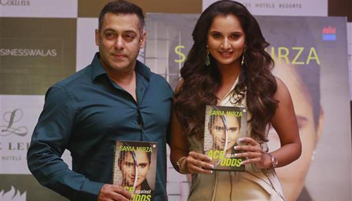 सलमान खान ने सानिया की आत्मकथा का विमोचन किया