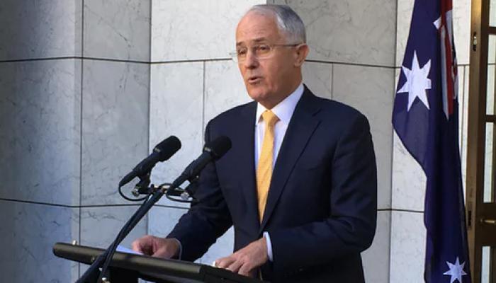 ऑस्ट्रेलिया में टर्नबुल ने प्रधानमंत्री के दूसरे कार्यकाल की ली शपथ
