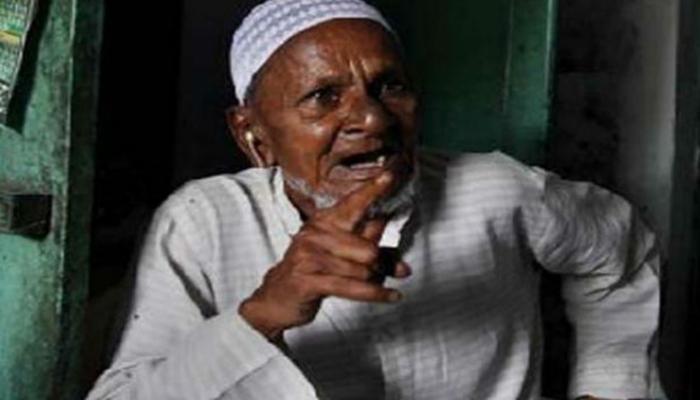 बाबरी मस्जिद मामला : सबसे बुजुर्ग पैरोकार मोहम्मद हाशिम अंसारी का निधन