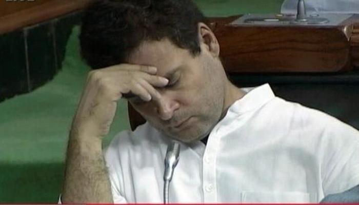 लोकसभा में राहुल गांधी के 'नैप' पर ट्वीटर 'अटैक', जानिए उनकी झपकी पर कैसे फूटा लोगों का 'रिएक्शन बम'