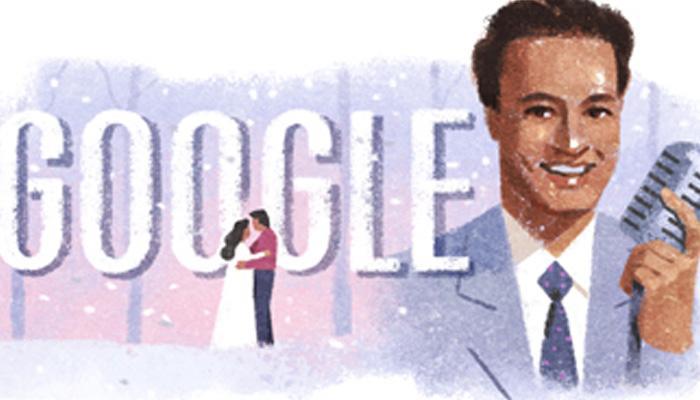 Google ने डूडल बनाकर गायक मुकेश को याद किया