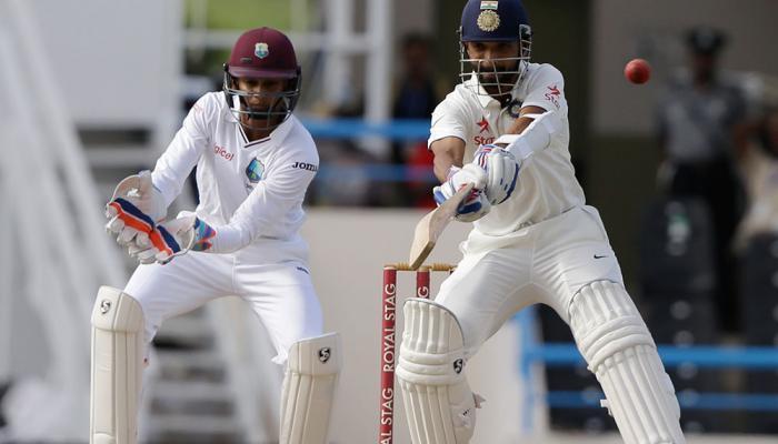 तस्वीरों में देखें भारत बनाम वेस्टइंडीज एंटीगा टेस्ट