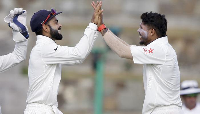 शमी और यादव की घातक गेंदबाजी से भारत ने वेस्टइंडीज को फॉलोऑन के लिए किया मजबूर