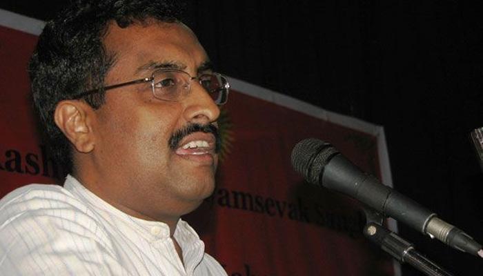 जम्मू-कश्मीर के लोगों को संविधान के दायरे में रहते हुए मांगों को लेकर दबाव बनाना चाहिए: राम माधव