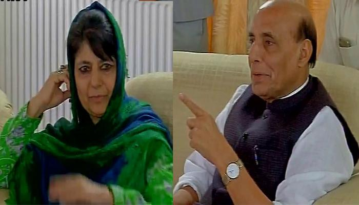 कश्मीर हिंसा: सीएम महबूबा ने की राजनाथ सिंह से मुलाकात, घाटी में 16वें दिन भी सामान्य जनजीवन ठप