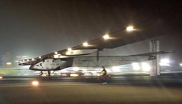सौर ऊर्जा से उड़ने वाला विमान 'इंपल्स 2' ने दुनिया का पहला चक्कर लगाकर रचा इतिहास