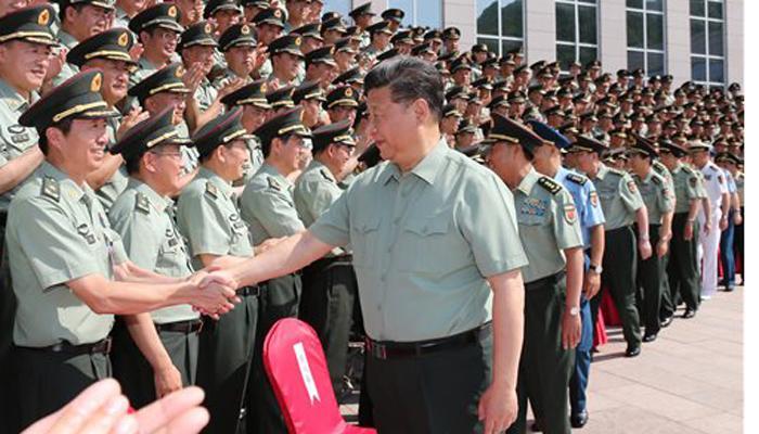 दक्षिणी चीन समुद्र पर बढ़ते विवाद के बीच चीनी सेना कर रही आमूलचूल परिवर्तन