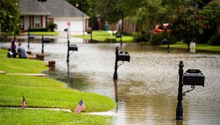 अमेरिका में बाढ़, बाढ़ग्रस्त लुइसियाना में आपात स्थिति घोषित