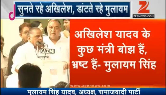 एसपी अध्यक्ष मुलायम सिंह का बड़ा बयान- अखिलेश ने बनी बनाई पार्टी बर्बाद कर दी, शिवपाल के खिलाफ हो रही है साजिश