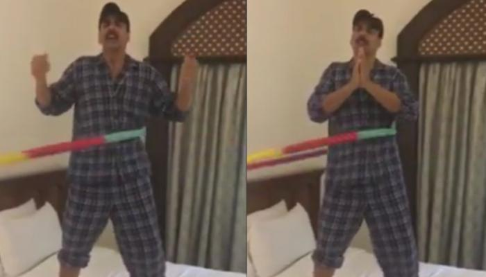 फिल्म रुस्तम की सफलता से अक्षय कुमार गदगद, गाना गाकर बॉलीवुड कलाकारों को कहा- 'शुक्रिया' - देखें Video