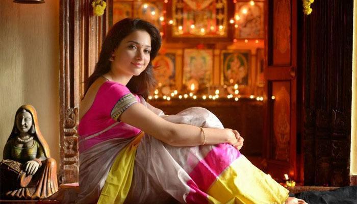 बाहुबली-2 के लिए अभिनेत्री तमन्ना भाटिया ने सीखी घुड़सवारी और तलवारबाजी