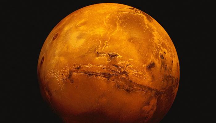 400 करोड़ साल पहले मंगल पर थी रहने के लिए अनुकूल जलवायु