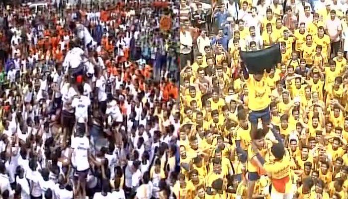 महाराष्ट्र: जन्माष्टमी पर दही-हांडी उत्सव के दौरान सुप्रीम कोर्ट के आदेश का उल्लंघन