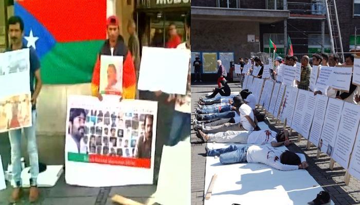 जर्मनी में बलोच नागरिकों ने पाकिस्तान के खिलाफ किया प्रदर्शन, 'PM मोदी लव्स यू' के नारे लगाए