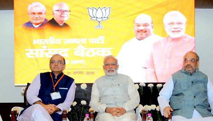 पार्टी की तरक्की के लिए राज्यसभा सांसदों को पीएम मोदी और अमित शाह ने दिए अहम मंत्र