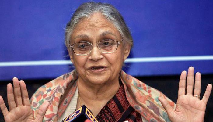 केजरीवाल को नैतिक आधार पर इस्तीफा दे देना चाहिए : शीला दीक्षित