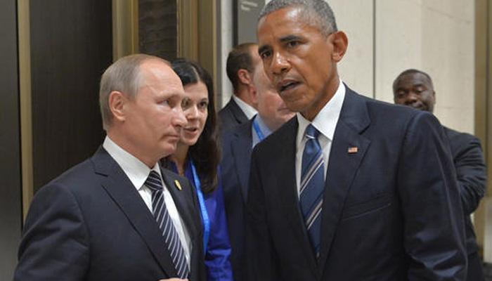 सीरिया पर समझौते के लिए कोशिशों के बीच चीन में ओबामा और पुतिन की मुलाकात