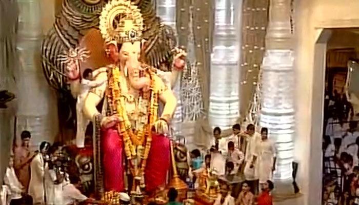 गणेश चतुर्थी उत्सव शुरू, पूरे महाराष्ट्र में भगवान गणपति का स्वागत