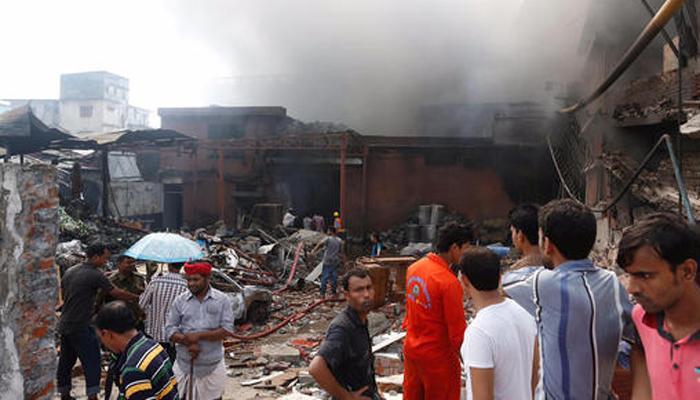 बांग्लादेश : कारखाने में बॉयलर में विस्फोट, 25 की मौत