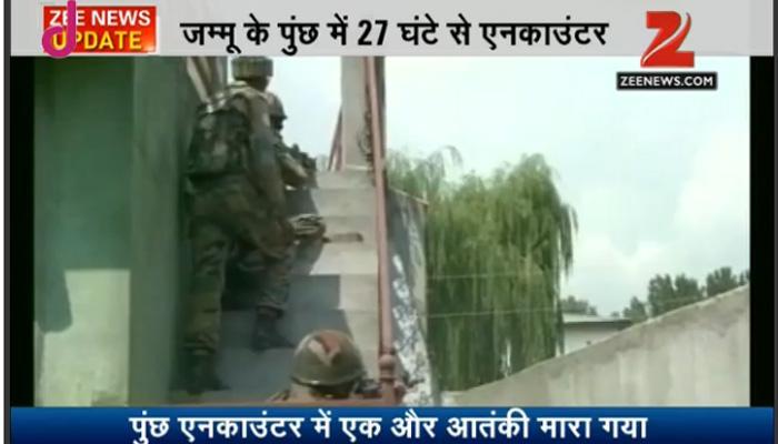 जम्मू-कश्मीर: पुंछ में दूसरे दिन भी एनकाउंटर जारी, सेना ने एक और आतंकी को किया ढेर