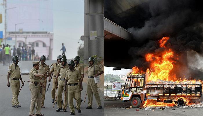 कावेरी जल विवाद : पुलिस की गोलीबारी में एक व्यक्ति की मौत; भीड़ ने दर्जन भर वाहनों में लगाई आग, सिद्धारमैया ने की शांति की अपील