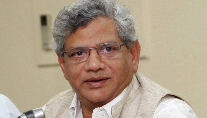 'अच्छे दिन' के नारे को लेकर येचुरी ने BJP पर साधा निशाना