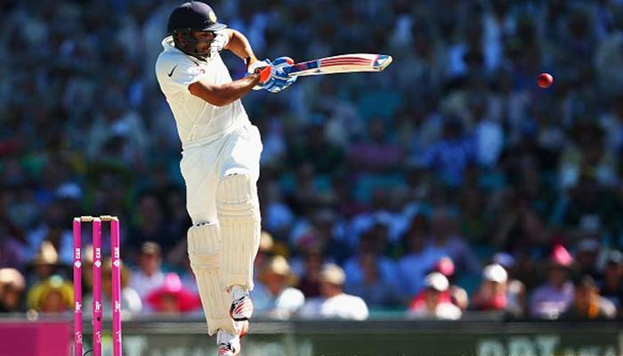 रोहित फेल, लेकिन मुंबई ने न्यूजीलैंड के गेंदबाजों की उड़ायी धज्जियां
