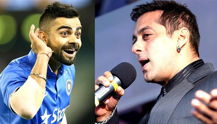 सलमान खान और विराट कोहली एक साथ म्यूजिक वीडियो में आएंगे नजर!