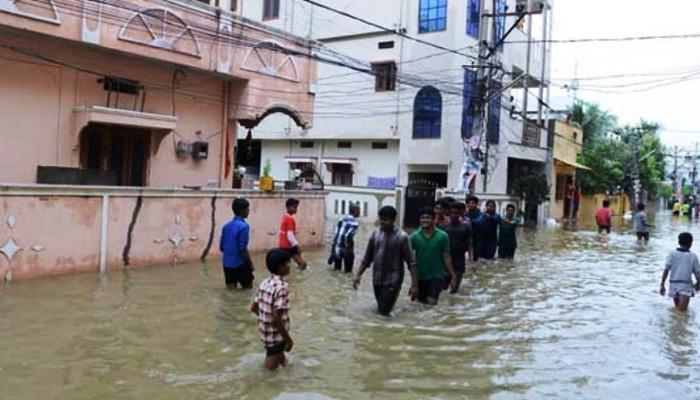 आंध्र प्रदेश के गुंटूर में भारी बारिश; सात लोगों की मौत, दो लापता