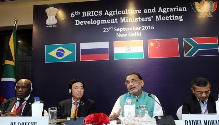 कृषि निर्यात पर सब्सिडी खत्म की जानी चाहिए : ब्रिक्स