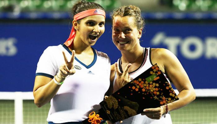 सानिया-स्ट्राइकोवा को टोरे पेन पैसीफिक टेनिस का खिताब