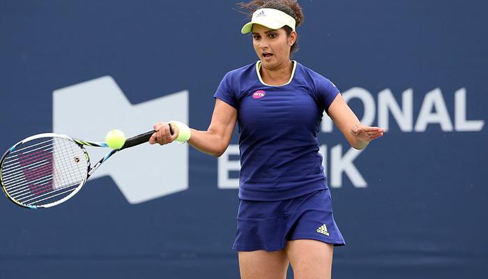 भारत की टेनिस स्टार सानिया मिर्जा युगल रैंकिंग में टॉप पर बरकरार