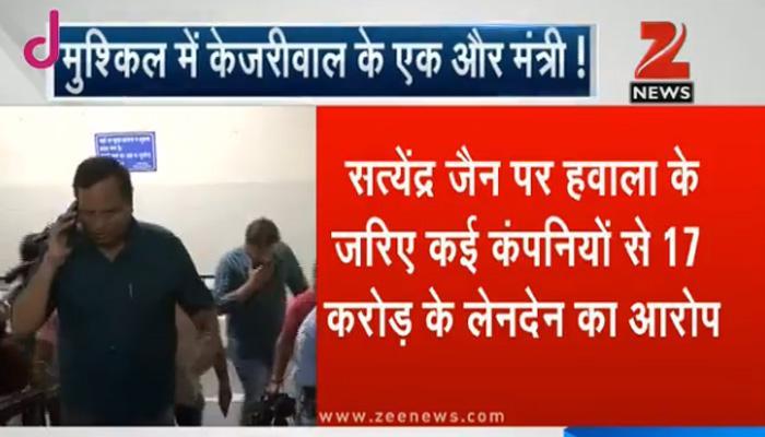 मुश्किल में दिल्ली के हेल्थ मिनिस्टर सत्येंद्र जैन, इनकम टैक्स ने भेजा नोटिस