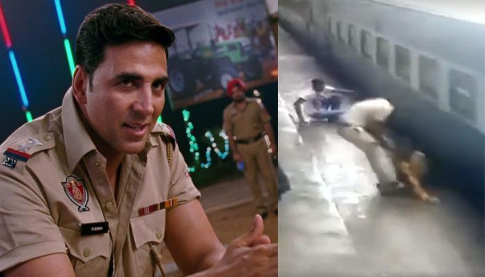 अक्षय कुमार ने लड़की की जान बचाने वाले कॉन्सटेबल को किया 'सैल्यूट', देखें VIDEO