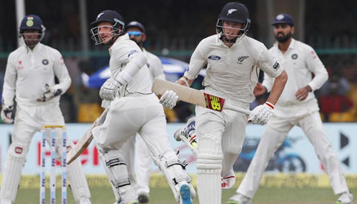 भारत और न्यूजीलैंड की टीमें कानपुर से कोलकाता के लिये रवाना