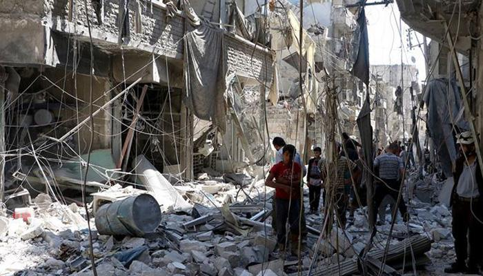 अलेप्पो में हिंसा के बीच अमेरिका ने किया सीरिया के लिए मदद का ऐलान