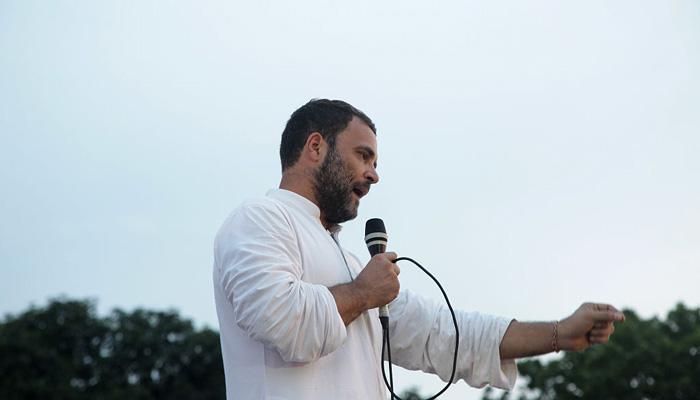 गायों को लेकर सियासत करते हैं BJP और संघ : राहुल गांधी