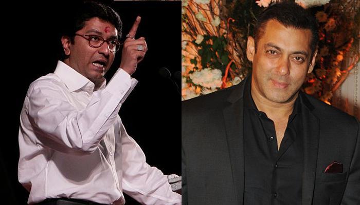 पाक कलाकारों के मुद्दे पर राज ठाकरे ने किया सलमान खान पर हमला, कहा- 'सलमान की ट्यूबलाइट बार-बार जलती बुझती रहती है'