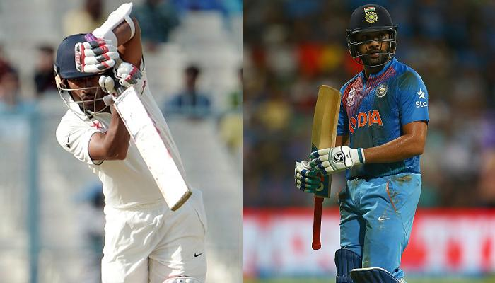 टेस्ट बल्लेबाजों की आईसीसी रैंकिंग में आगे बढ़े रोहित शर्मा और रिद्धिमान साहा