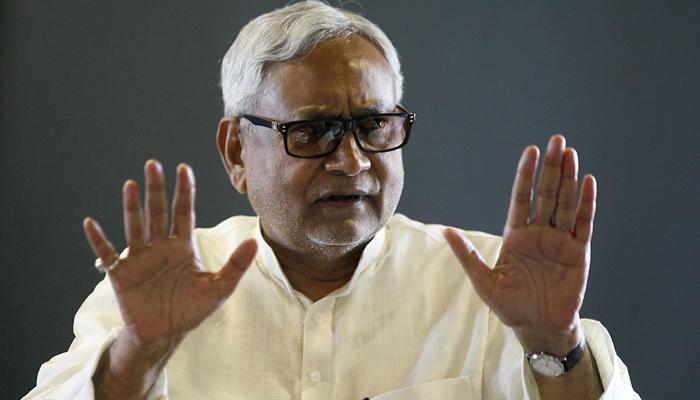 नीतीश ने समाजवादी चिंतक डॉ. राम मनोहर लोहिया को बताया 'स्वच्छता' का जनक