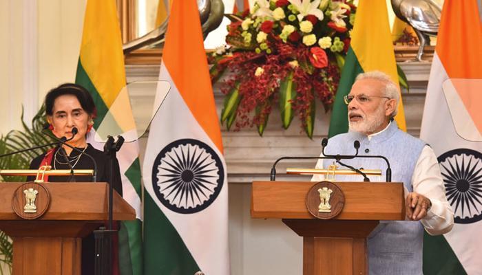 सू ची ने महात्मा गांधी और नेहरू को बताया प्रेरणास्रोत