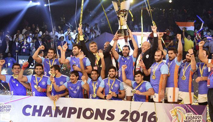 कबड्डी विश्व कप 2016 का चैंपियन भारत