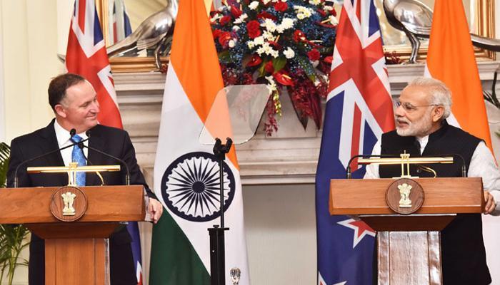 नरेंद्र मोदी-जॉन की वार्ता : NSG की सदस्यता पर भारत को न्यूजीलैंड का मिला साथ