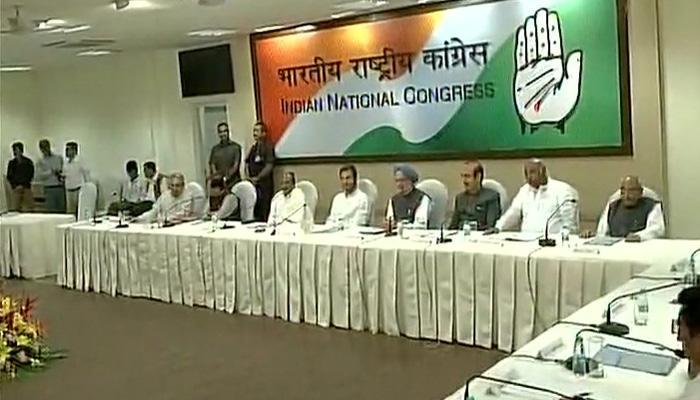 सोनिया गांधी बीमार, राहुल ने की कांग्रेस कार्य समिति बैठक की अध्यक्षता