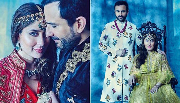 सैफ अली खान और करीना कपूर खान का रॉयल फोटोशूट