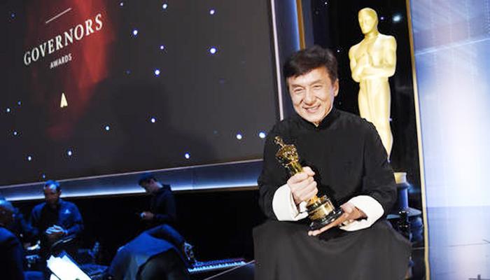 फिल्म जगत को 56 साल देने के बाद जैकी चैन को मिला ऑस्कर