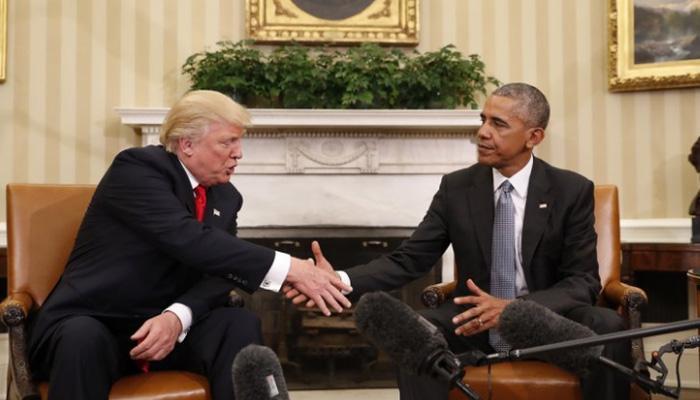 ओबामा की तारीफ डोनाल्ड ट्रंप ने कुछ इन लफ्जों में बयां की